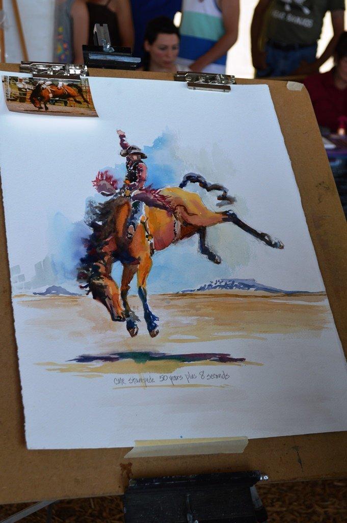 Art by Diana Brady; Winnett, MT