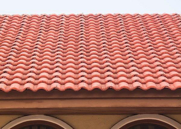 piastrelle del tetto