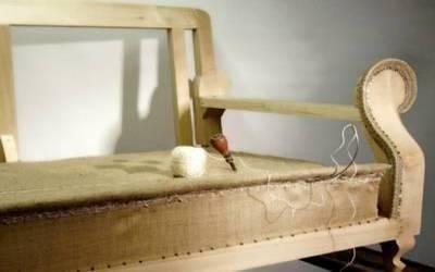 Cucitura torcolo e trapuntatura sedile