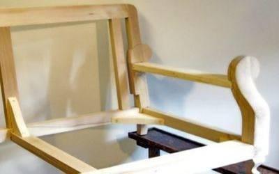 Struttura in legno massello (faggio o abete)