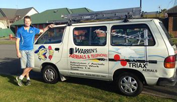 Warren's Aerials & Telephones provide free view installation and other services in Christchurch, NZ