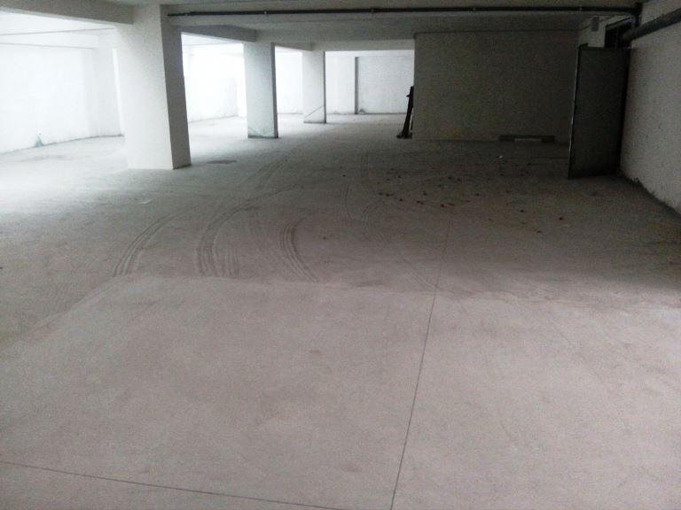 Pulizia garages con aspiratura