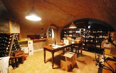 internal wine cellar
