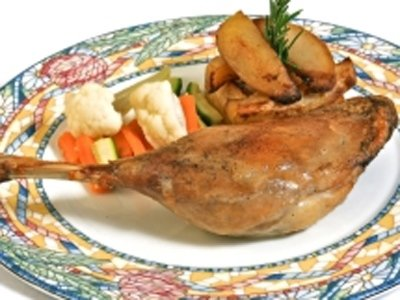 Roasted Pigeon with Rosemary