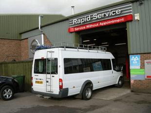 Car service centre