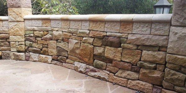 michael livisianos stonemason floor and wall with stone work