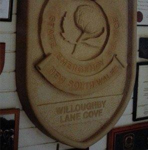 michael livisianos stonemason name board in stone