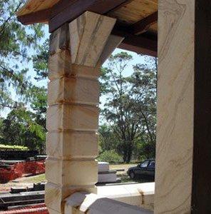 michael livisianos stonemason stone pillars