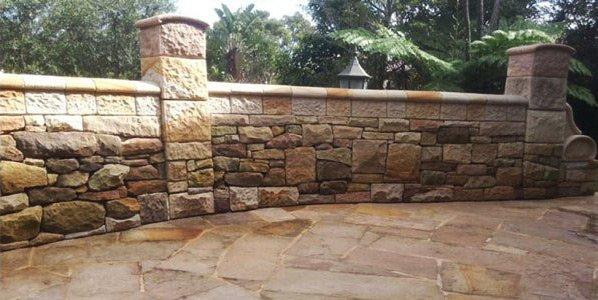 michael livisianos stonemason stone wall and floor