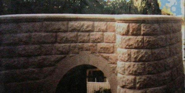 michael livisianos stonemason stone wall design work