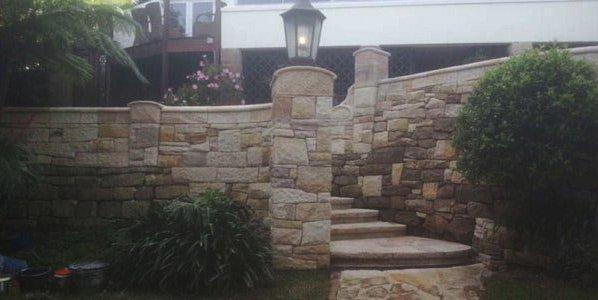 michael livisianos stonemason stone wall for home