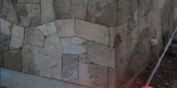 michael livisianos stonemason wall with stones