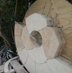 michael livisianos stonemason work in progress