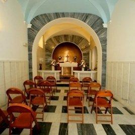 La cappella di Villa San Pietro