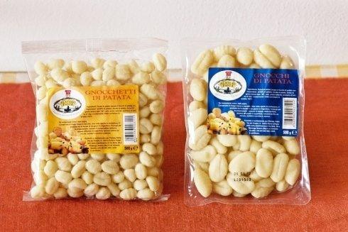 Gnocchetti e gnocchi di patata