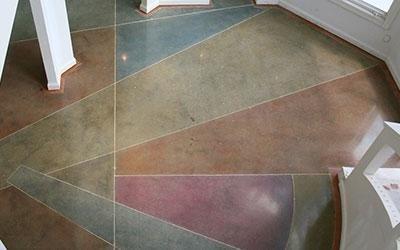 pavimenti levigati e colorati