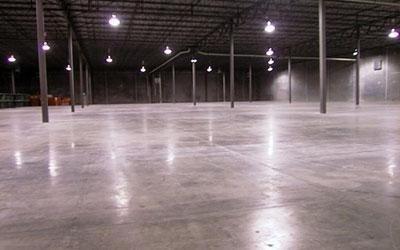 Pavimento industriale incolore