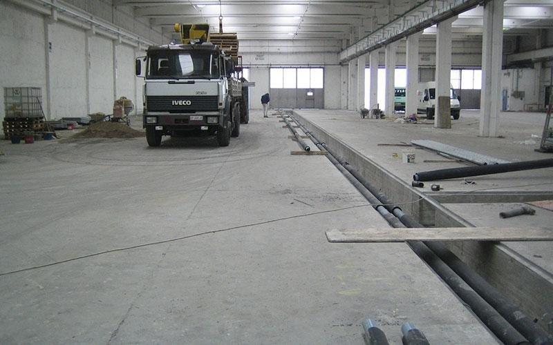 pavimento industria meccanica