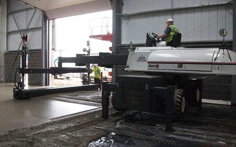 pavimento al laser
