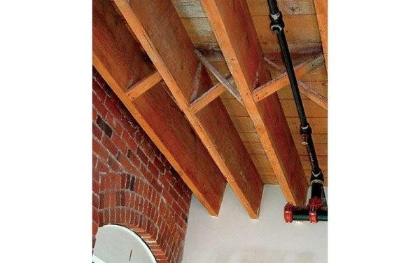 Protezione ignifuga per legno