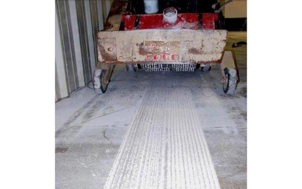 Scarificazione cemento