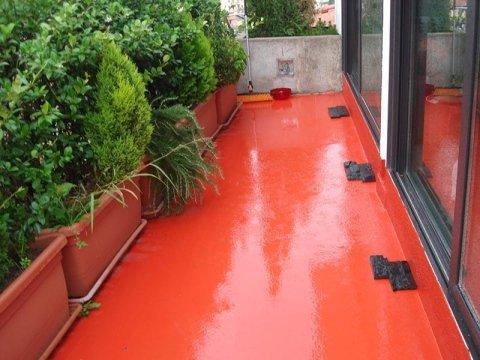 Rivestimento in resina per pavimenti