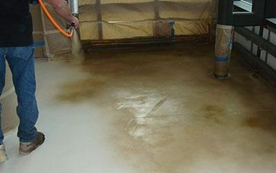 pigmentazione pavimento