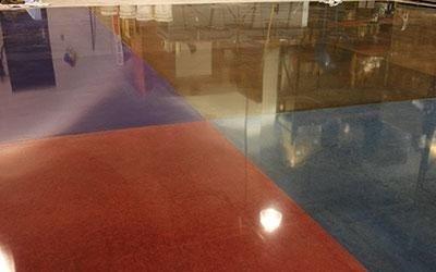 pavimento multicolore