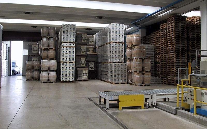 pavimento industriale per magazzini