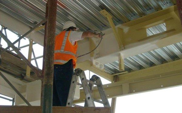 Protezione ignifuga per soffitti