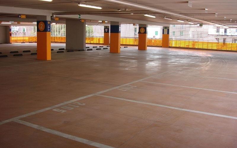 pavimento per parcheggi
