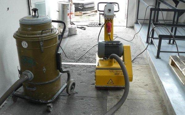 Fresatura pavimento in cemento