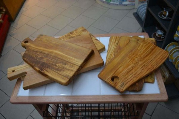 mestolame in legno olivo