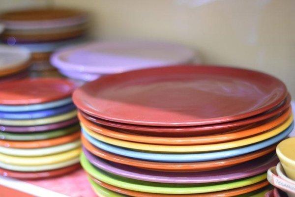 piatti in vari colori