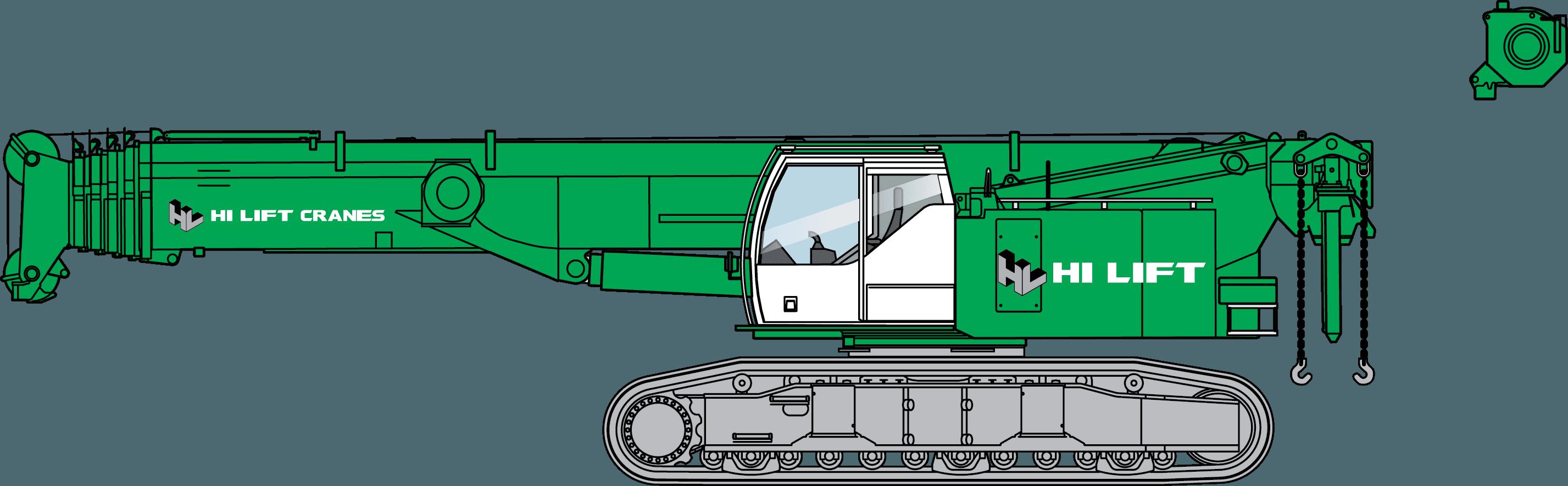LIEBHERR LTR1100 - 100 TONNE