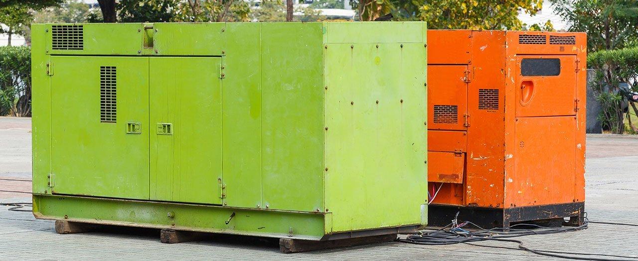 Generator hire scheme