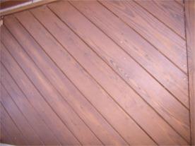 cleaning wood decks, staining wood decks