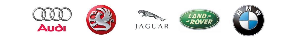 Automotive brand logos