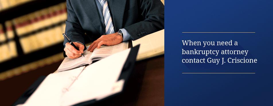 Bankruptcy lawyer Albany, NY