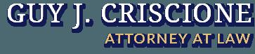 Guy J. Criscione Attorney At Law Logo