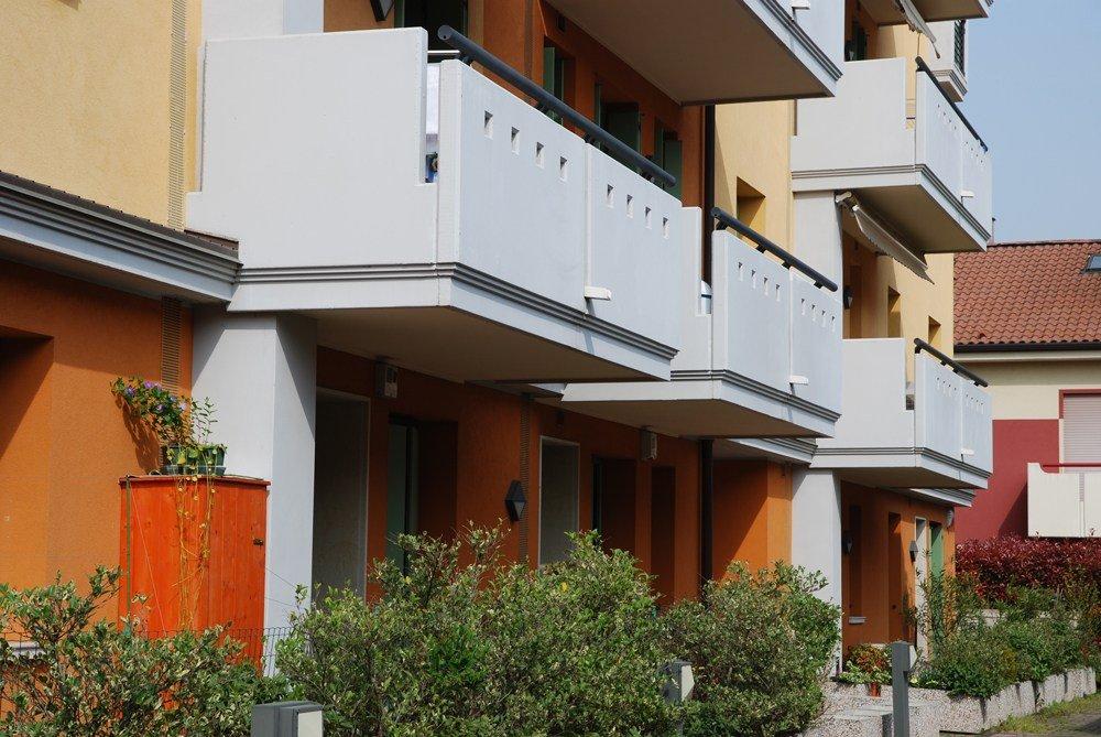 i balconi di un condominio