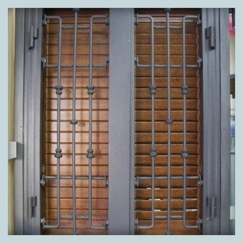 serramenti in ferro battuto