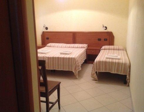 camera per tre