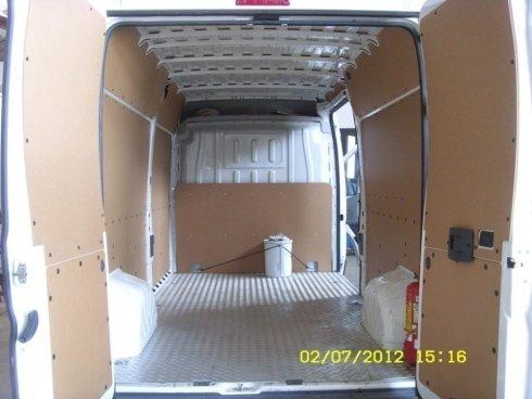 rivestimenti interni furgone
