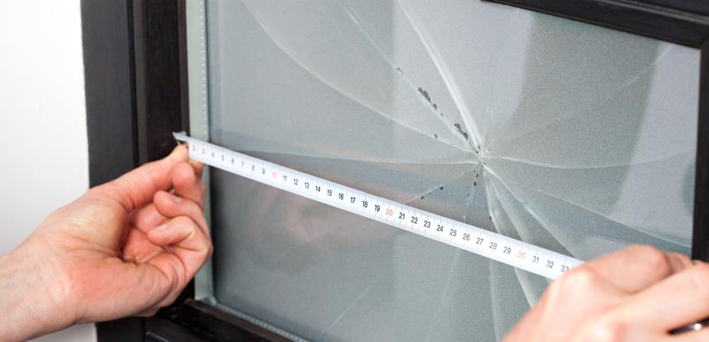 Fixing broken glass in Wellington
