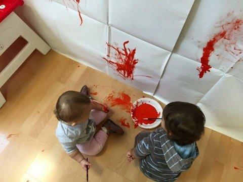 laboratori pittura bambini