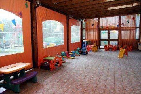 sala attrezzata per i piccoli
