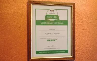 certificato eccellenza al portico