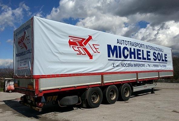 telone per camion a marchio MICHELE SOLE
