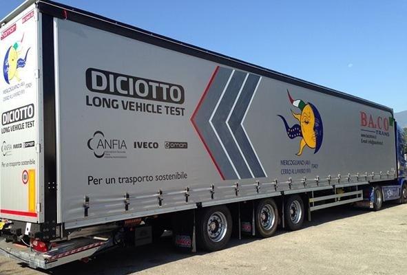 telone per camion a marchio  DICIOTTO